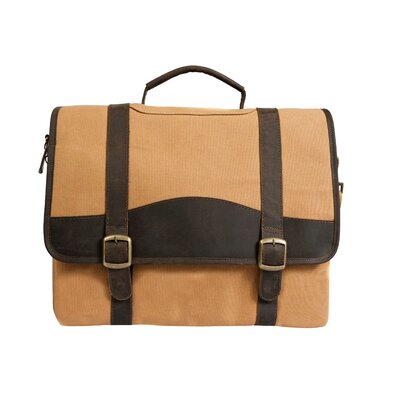 Elk Valley Leather Briefcase by Canyon Outback Leather