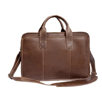 Buffalo Valley Leather Briefcase by Canyon Outback Leather
