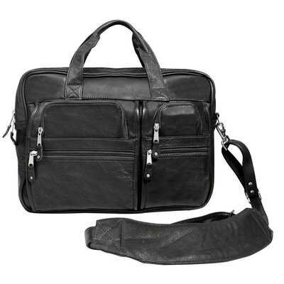 Blackwater Leather Briefcase by Canyon Outback Leather