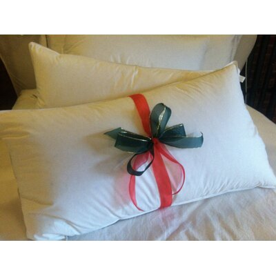 Hungarian Down Queen Spa Pillow by Down to Basics