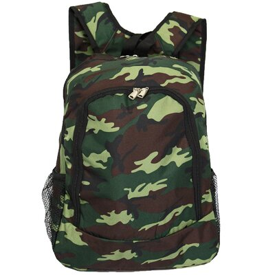Camouflage Backpack by World Traveler