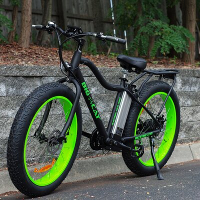 Electric Fat Cat X Mountain Bike by Big Cat E-Bykes