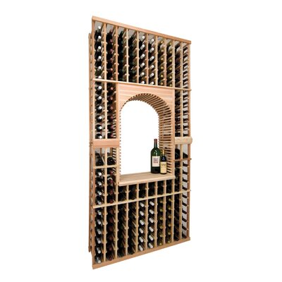 wine cellar vintner 126 bottle wine rack reviews wayfair. Black Bedroom Furniture Sets. Home Design Ideas