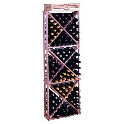 Premium Redwood 132 Bottle Wine Rack by Wine Cellar