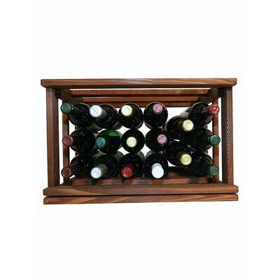 Mini Stack Series 17 Bottle Tabletop Wine Rack by Wine Cellar