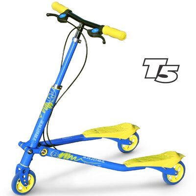 Trikke Tech Inc. T5 Carving Three Wheel Scooter Scooter T5