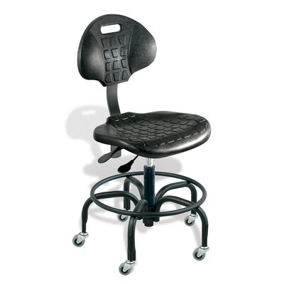 UniqueU Office Chair with Foot ring by BioFit