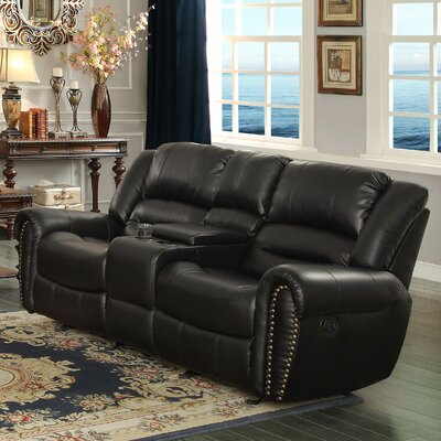 Center Hill Power Reclining Loveseat by Homelegance