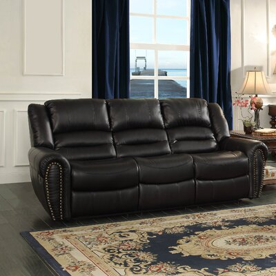 Center Hill Power Double Reclining Sofa by Homelegance