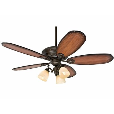 "54"" Crown Park 5 Blade Ceiling Fan Product Photo"