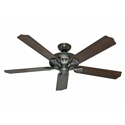 "60"" The Royal Oak™ 5 Blade Ceiling Fan with Remote Product Photo"