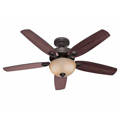 "52"" Builder Deluxe 5 Blade Ceiling Fan Product Photo"