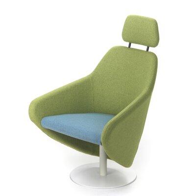 Taxido Swivel Lounge Chair with Headrest by Segis U.S
