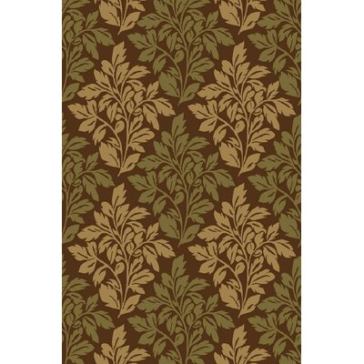 Kings Court Brown Avalon Floral Rug by Well Woven