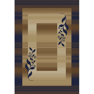 Well Woven Barclay Navy Molly Twigs Area Rug