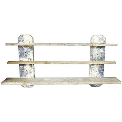 Fence Board 3 Shelf Unit by Bottles & Wood