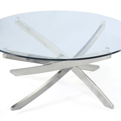 Zila Round Cocktail Table by Magnussen