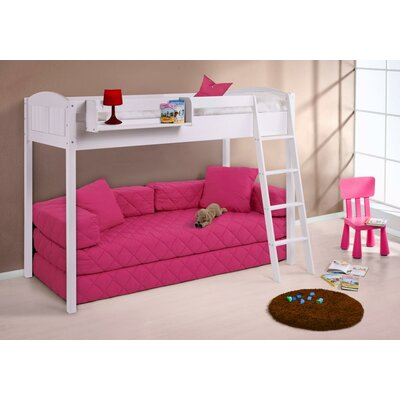 Wrigglebox ida country high sleeper bunk bed reviews - Litera con sofa debajo ...