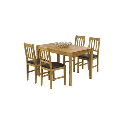 Home Etc Ponziane Dining Table And 4 Chairs Reviews Wayfair Uk
