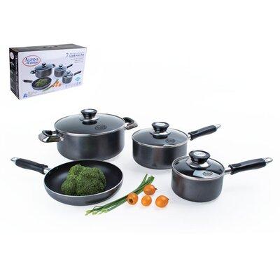 7 Piece Non-Stick Cookware Set by Alpine Cuisine