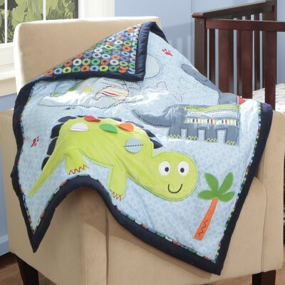 Bananafish Little Dinos Blanket by Baby Boom