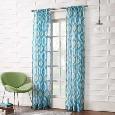 Pavel Single Curtain Panel Product Photo