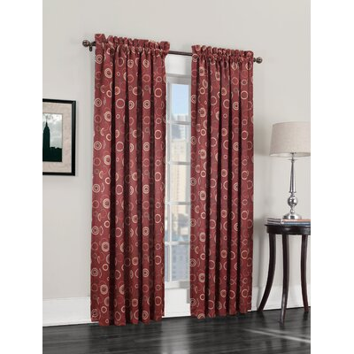 Otis Room Darkening Single Curtain Panel Product Photo