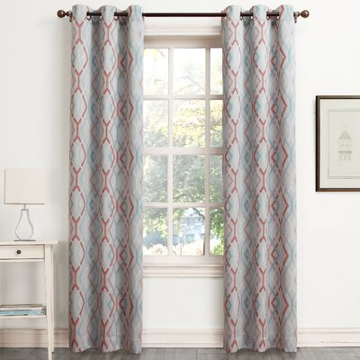 Millennial Warwick Room Darkening Single Curtain Panel Product Photo