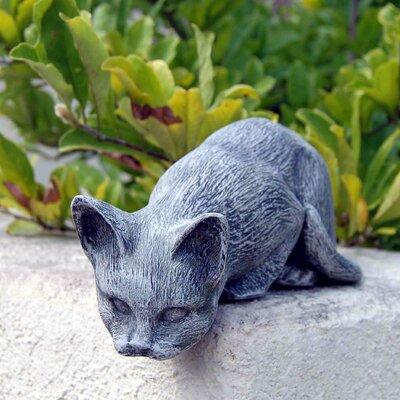 Cat Statue by Ladybug Garden