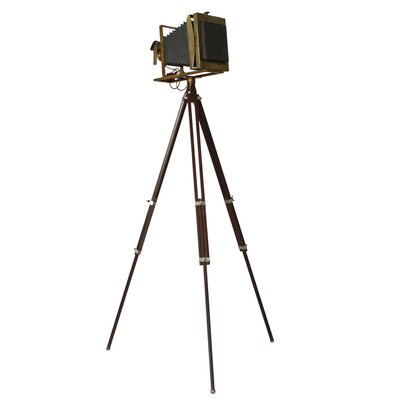 Vintage 19th Century Tripod Camera Accent Home Decor by EC World Imports