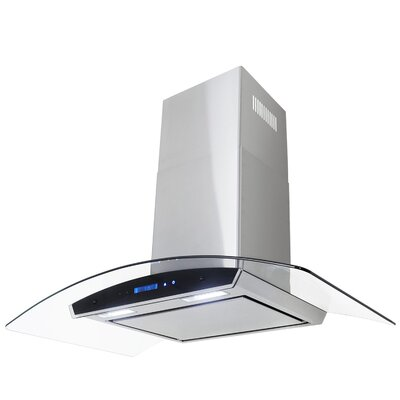 "29.52"" 760 CFM Convertible Wall Mount Range Hood in Stainless Steel Product Photo"