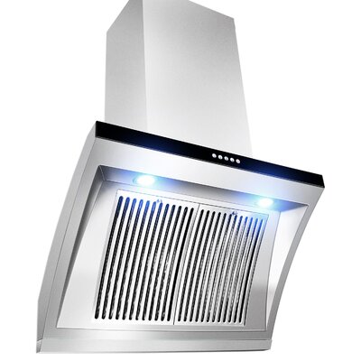 "30"" Wall Mount Range Hood in Stainless Steel Product Photo"