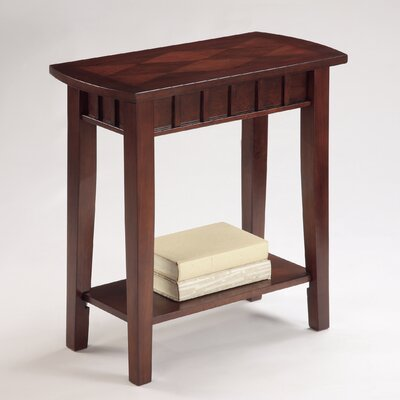 Dentil Chairside Table by Crown Mark