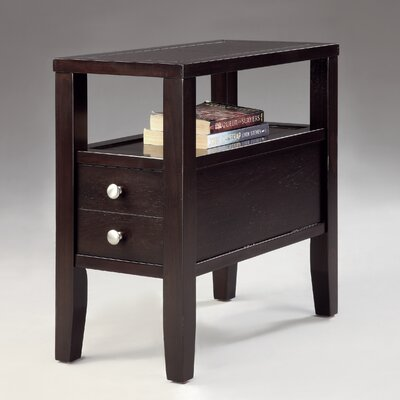 Matthew Chairside Table by Crown Mark