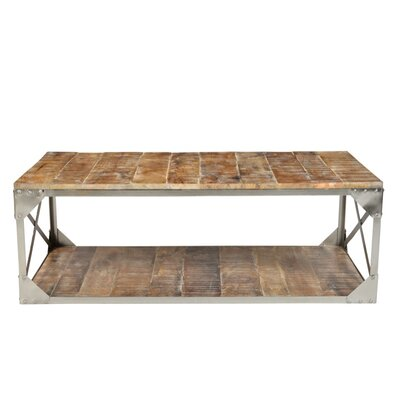Industrial Coffee Table by CDI International