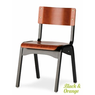 Carlo Armless Stacking Chair by Holsag