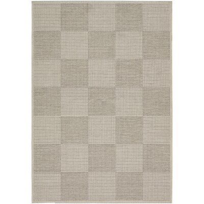 Tides Concord Crème/Cocoa Indoor/Outdoor Area Rug by Couristan
