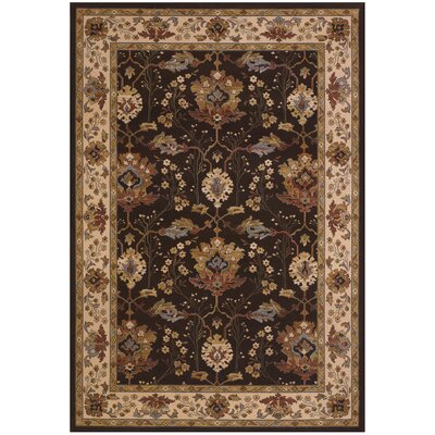 Everest Khalista Chocolate Area Rug by Couristan