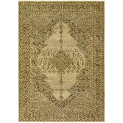Timeless Treasures Antique Cream Diamond Sarouk Area Rug by Couristan
