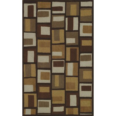 Dalyn Rug Co. Structures Chocolate Geometric Area Rug