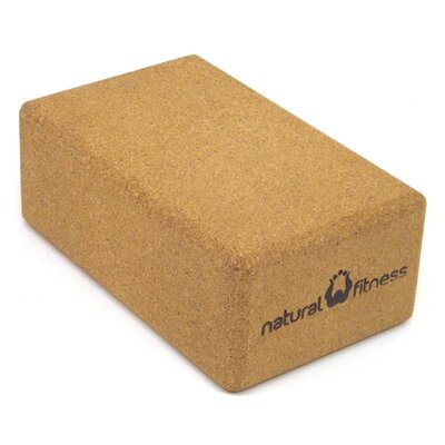 Natural Fitness Cork Yoga Block