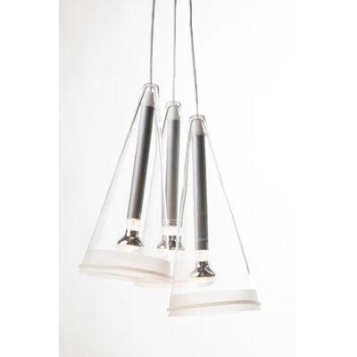 3 Light Cluster Pendant by Stilnovo
