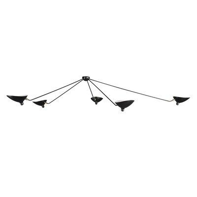 5 Light Ceiling Lamp by Stilnovo