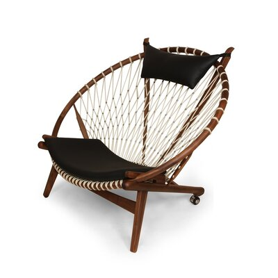 The Hoop Lounge Chair by Stilnovo