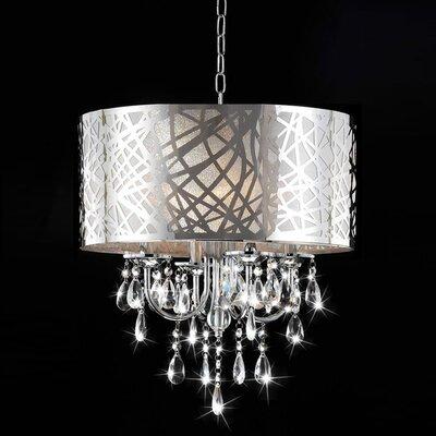 Venus 4 Light Drum Chandelier Product Photo
