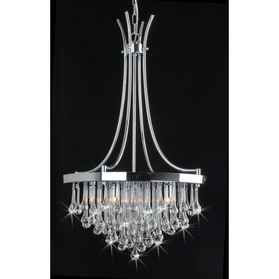 Bacchus 5 Light Crystal Chandelier Product Photo
