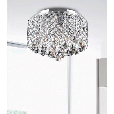 Acamar 4 Light Flush Mount Product Photo