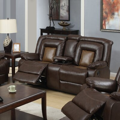 Topeka Reclining Loveseat by Beverly Fine Furniture