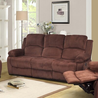 Denver Reclining Sofa by Beverly Fine Furniture