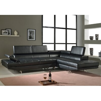 Fila Right Hand Facing Sectional by Beverly Fine Furniture